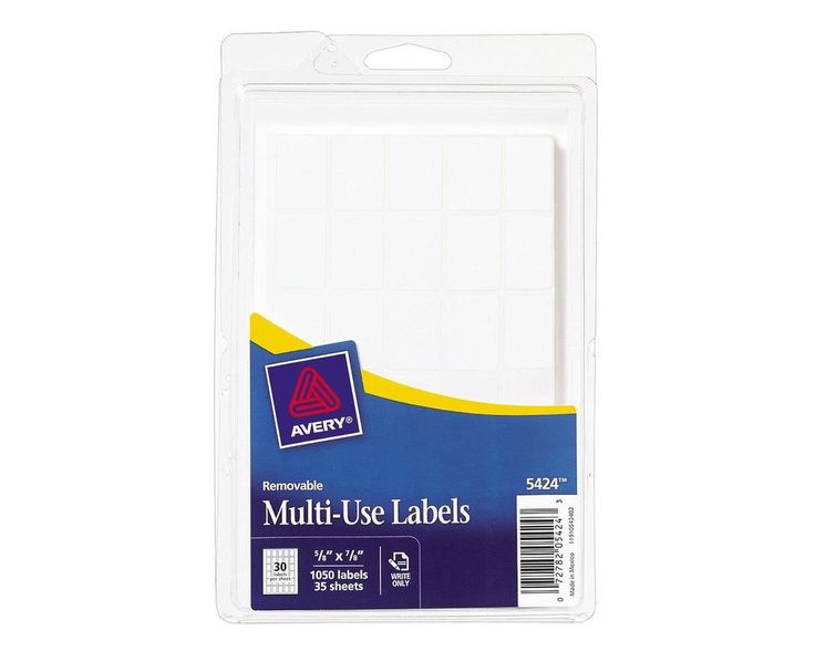Avery Margin Ultra Tabs 25 X 1 24 Repositionable Tabs Two Side