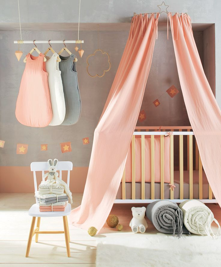 Ciel de lit chambre b b babyspace for Collection chambre bebe