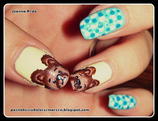 Paznokcie w kolorze marzeń: Teddy Bears