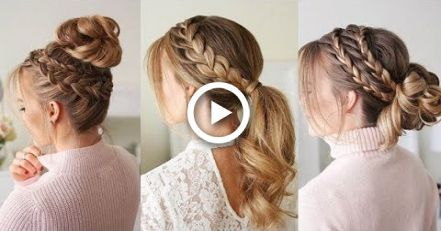 12 Hairstyles Tutorials Compilation Apirl 2018 Braid Hairstyles Each Lady Shou…