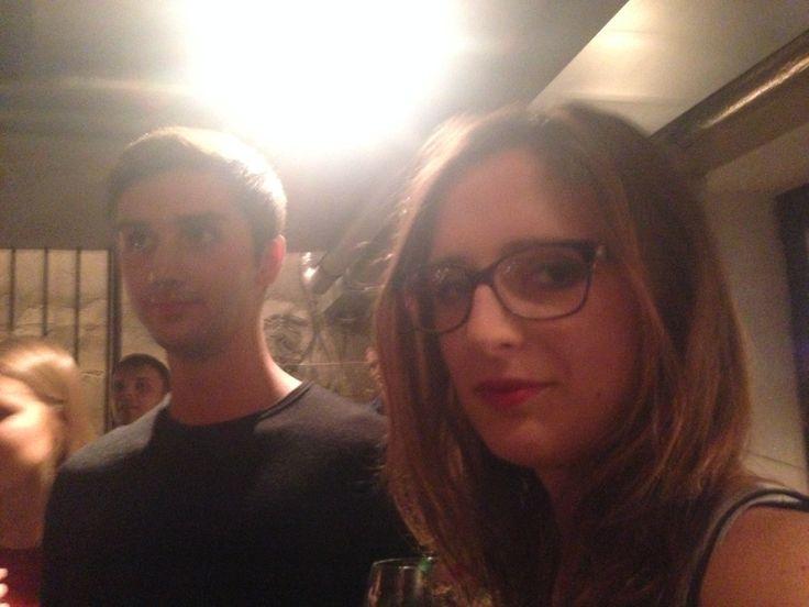 Nina (Medycyna Oxford) i Zachariasz Biologia Oxford) na Oxbrigde Freshers' Meeting