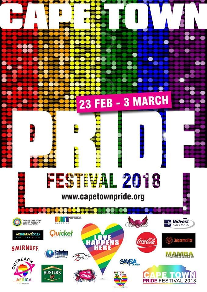 Creative And Academic Freedom Under Threat From Religious: Cape Town Pride Mardi Gras 2018