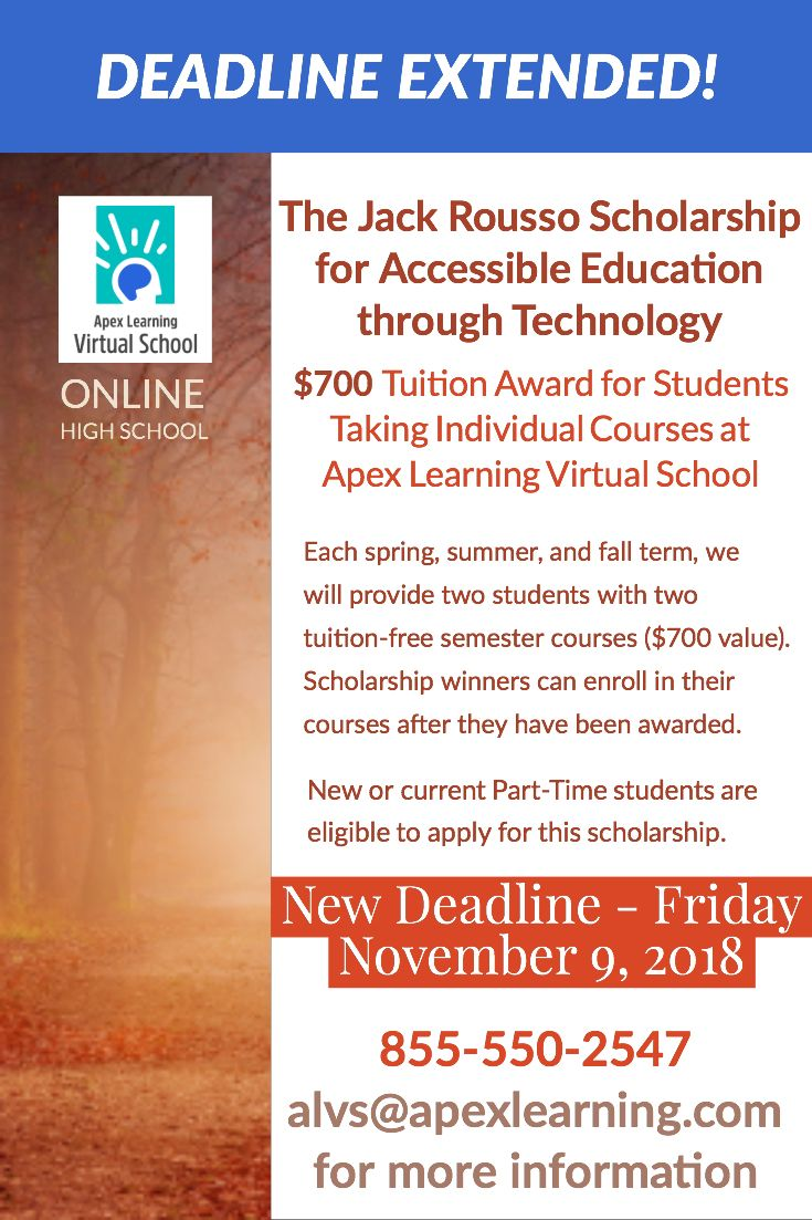 Rousso Scholarship For Accessible Education Through Technology
