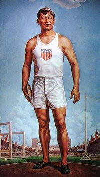 Jim Thorpe was an American athlete of both Native American and European ancestry from Oklahoma. Considered one of the most versatile athletes of modern sports, he won Olympic gold medals for the 1912 pentathlon and decathlon, played American football (collegiate and professional), and also played professional baseball and basketball.