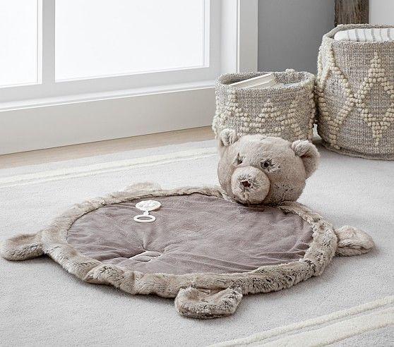 Bear Plush Playmat | Pottery Barn Kids