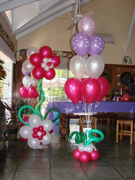 17 best images about kunst mit ballons balloon art on - Decoracion con biombos ...
