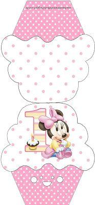Imprimibles de Minnie primer a�o 5.