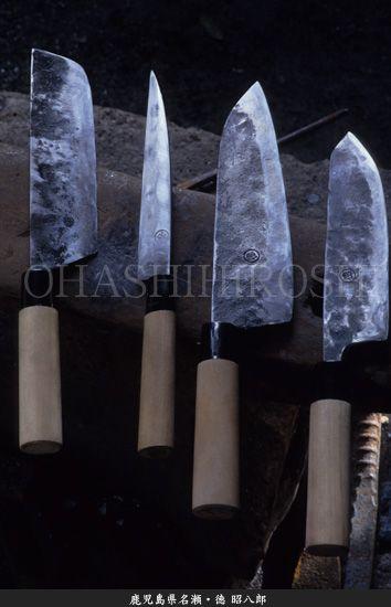Japanese craftsman - Shohachiro Toku : photo by Hiroshi Ohashi