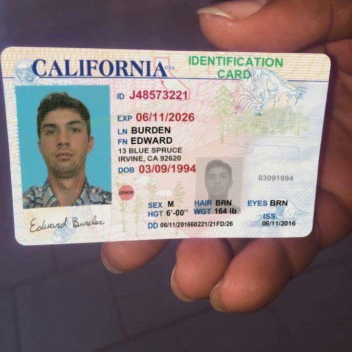 Fake drivers license picture generator