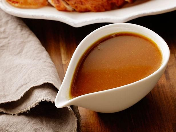 Roasted Turkey Gravy Recipe Tyler Florence (Extended directions: http://www.geniuskitchen.com/recipe/tyler-florence-turkey-gravy-266514)