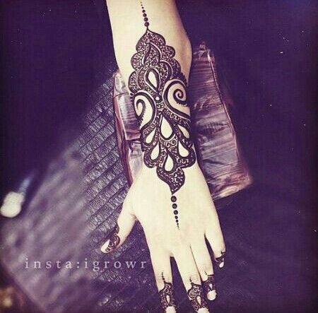 Arabic Mehandi Designs For Every Occassion