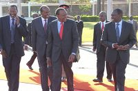 DAILY POST: DUALE's situation worsens as UHURU/ RUTO's Jubilee call for a crisis meeting over him