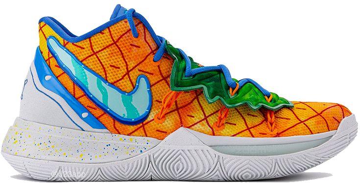 Nike Kyrie 5 Spongebob Pineapple House   Nike kyrie. Kyrie irving shoes. Nike basketball shoes
