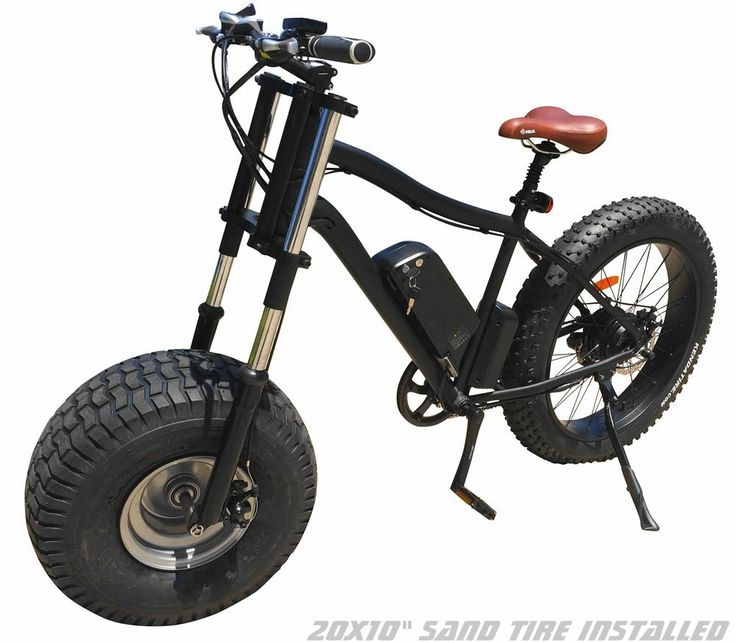 Xterrain Soft Sand & Snow All Terrain Electric Bicycles. - Electric Bikes For Sale, Sell Electric Bicycle, Electric Mountain Bike