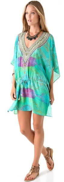 Antigua Drawstring Caftan - By Camilla Franks