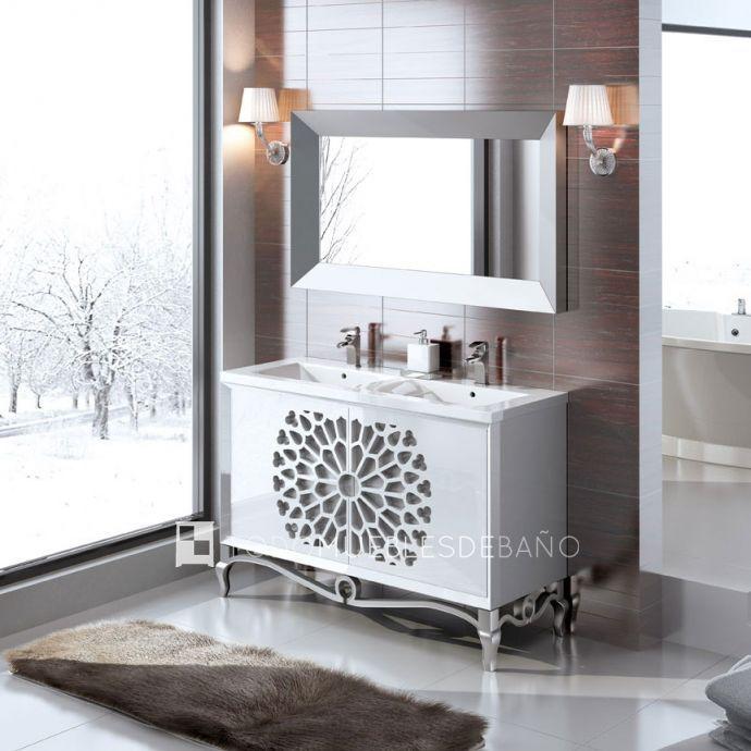 Las 25 mejores ideas sobre lavabo doble en pinterest for Lavabo doble seno con mueble