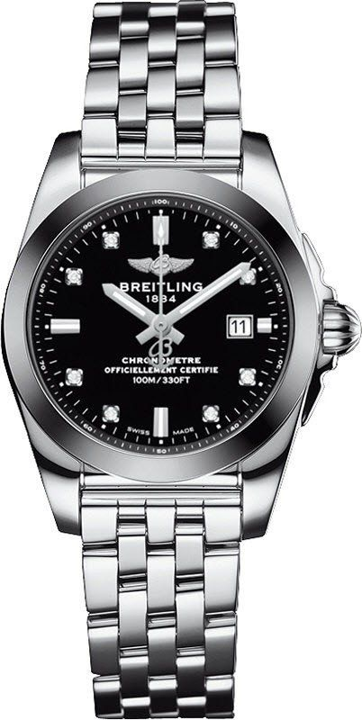 @breitling Watch Galactic 29 Sleekt #add-content #bezel-fixed #bracelet-strap-steel #brand-breitling #case-depth-8-9mm #case-material-steel #case-width-29mm #cosc-yes #date-yes #delivery-timescale-1-2-weeks #dial-colour-black #gender-ladies #luxury #movement-automatic #new-product-yes #official-stockist-for-breitling-watches #packaging-breitling-watch-packaging #style-dress #subcat-galactic #supplier-model-no-w7234812-be50-791a #warranty-breitling-official-5-year-guarantee…