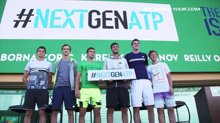 #atp #tennis #news  Federer Gets Quizzed, #NextGenATP Takes Centre Stage