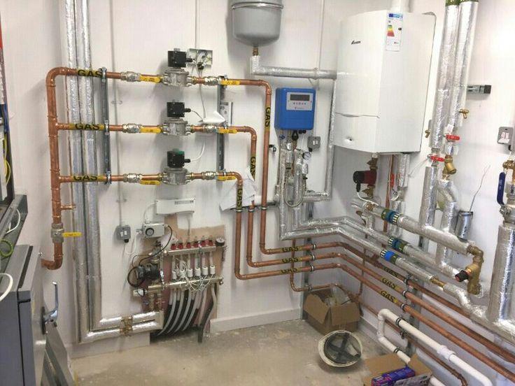 Boiler system Boiler heating system, Floor heating
