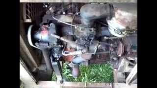 older hobart welders with willys jeep engine - YouTube