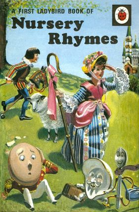 A First Ladybird Book Of Nursery Rhymes 1965 ... read it to death