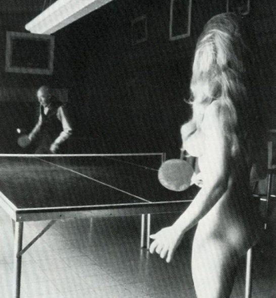 Sorry, not Naked ping pong actress