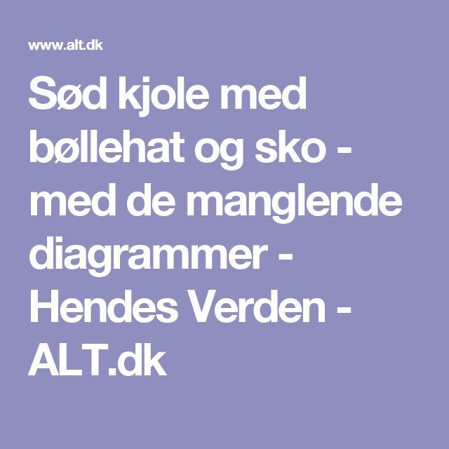 Sød kjole med bøllehat og sko - med de manglende diagrammer - Hendes Verden - ALT.dk