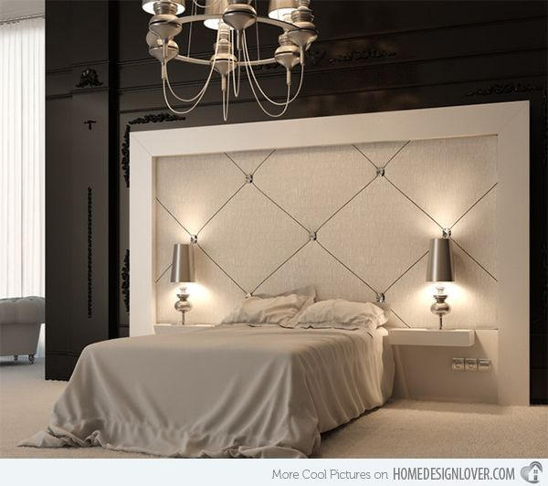 Padded Headboard Designs | ... Your Bedroom with 15 Upholstered Headboard Designs | Home Design Lover