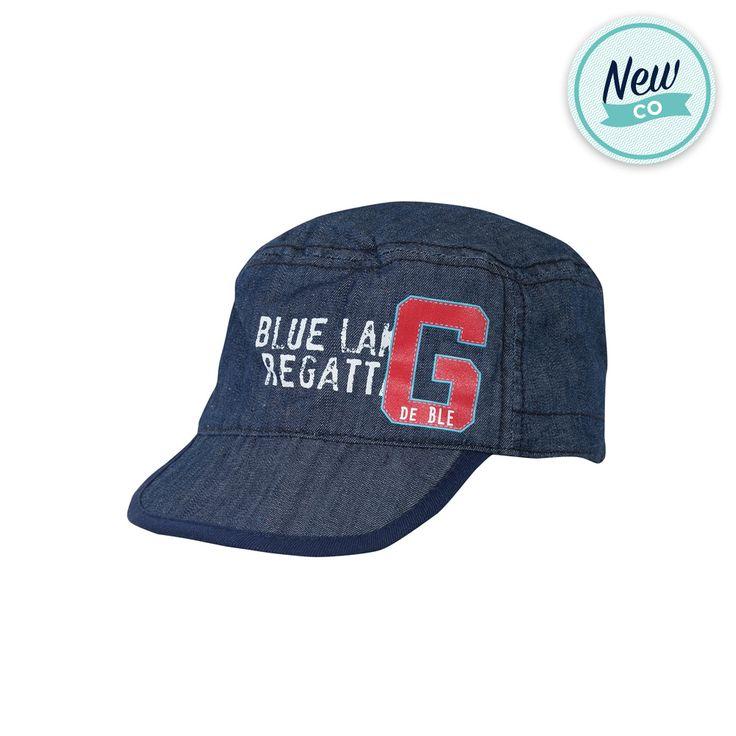 Cappellino in cotone effetto denim..per i maschietti di casa! nuova collezione pe16 Grain de blé by Zgeneration #zgeneration #pe16 #newco #kids