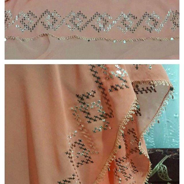 İğneoyalı Tel Kırma Başörtü.. Sipariş alabiliriz  #elisi #telkirma #basortu #igneoyasi #handmade
