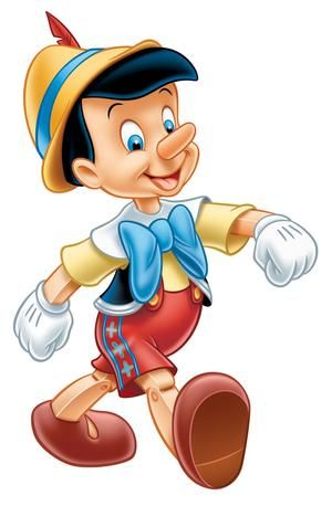 Cartoon Characters and Animated Movies: Pinocchio