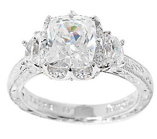 17 Best 1000 images about Epiphany rings on Pinterest Halo QVC and