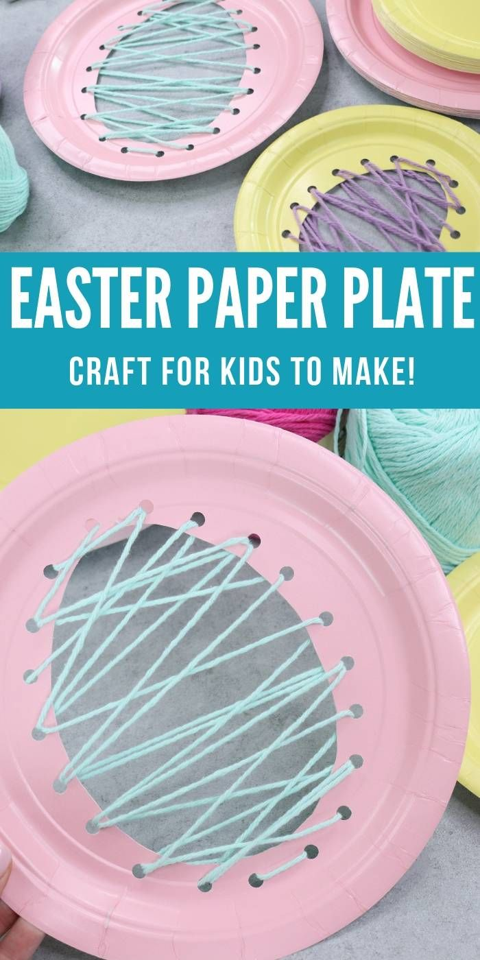 DIY Craft: Easter Paper Plate Craft! A fun Easter Craft Idea for Kids! <a class=