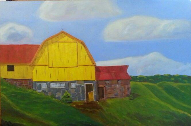 Barn on Innes Lake Road - Caledon