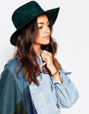 Esprit Suedette Fedora Hat