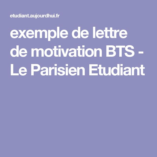 25  best ideas about exemple lettre de motivation on