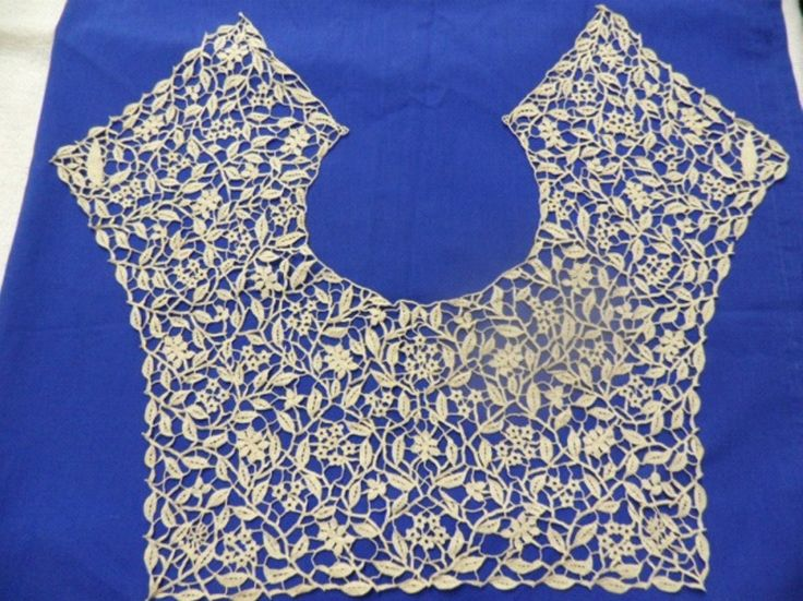 """""""Wag 'n bietjie"""" lace pattern designed by Emily Hobhouse, the driving force behind the first lace school in South Africa"""