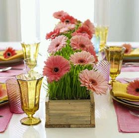 MuyAmeno.com: Centros de Mesa y Arreglos Florales Para el Día de la Madre