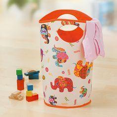Nähanleitung: Stoffkorb fürs Kinderzimmer nähen | buttinette Blog