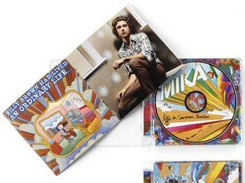 Life In Cartoon Motion art and cd