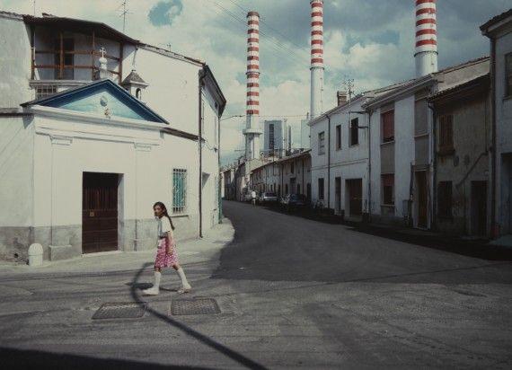 Ostiglia, Centrale Elettrica, 1987 da Luigi Ghirri