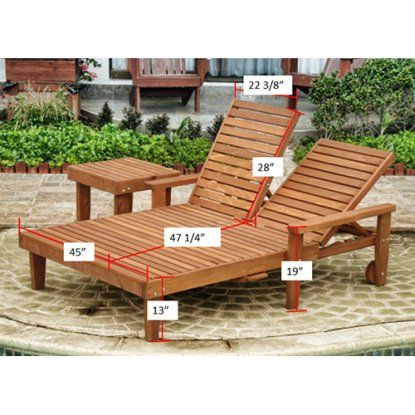 Best Redwood Double Summer Chaise Lounge Hayneedle