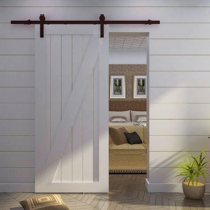Out Of Sight Home Depot Wood Doors White Wood Barn Doors: 31 Best Barn Doors Images On Pinterest
