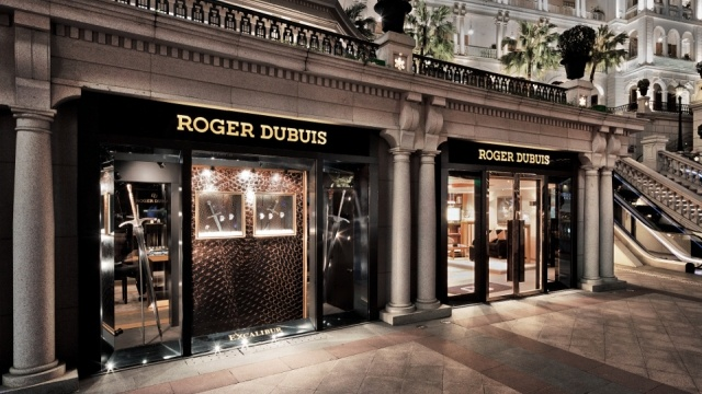 Roger Dubuis - new store in Hong Kong