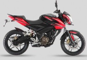 pulsar 200ns color red black 300x205 New Bajaj Pulser 200 NS DTS i Price and Review