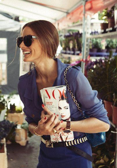 Thursday Inspo // 11 - Bella to Bella: Olivia Palermo, Vogue,  Laugh