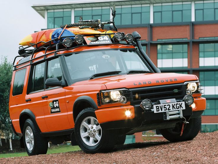 Land Rover Discovery   Land Rover Discovery G4 Edition '2003