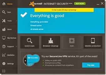 Avast is one of the best antivirus in the world. Now they released their Avast 2014 edition for Windiows 8 and Windows 7 particularly. Download and enjoy with the new interface of Avast