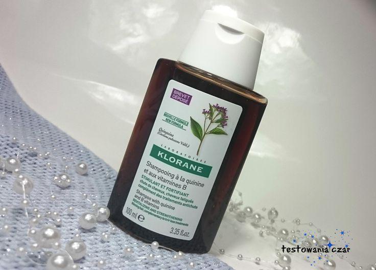 testowaniaczar: Klorane - szampon przeciw wypadaniu włosów