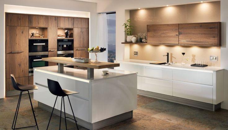 Breitschopf macht ihre Küche → Barrique Alteiche - küche mit weinkühlschrank